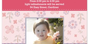 Stop by Minted.com and rate our Birthday Party Invitation – Sweetest Garden