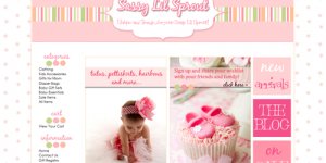 Sassy Little Sprout Turnkey Boutique **SOLD**