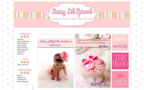 turnkey boutique website for sale