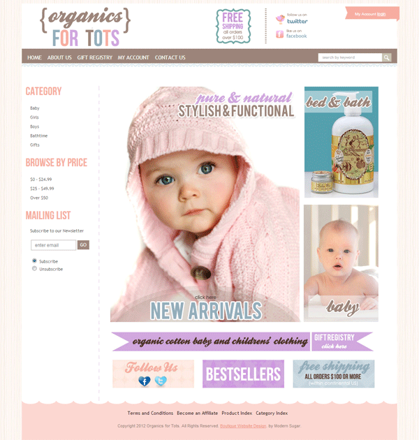 Turnkey Boutique Website