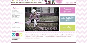 ShabbyTots.com Turnkey Boutique Website for SALE