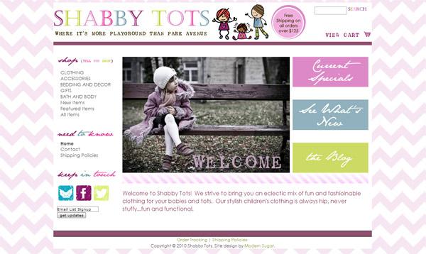 boutique web design | WAHM web designer | boutique websites