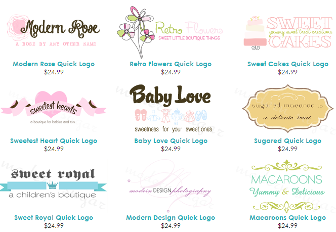 quick boutique logos