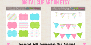 Commercial Use Digital Clip Art on Etsy