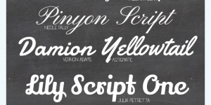 fav-fonts-script
