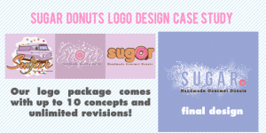 Custom Boutique Logo – Sugar Donuts Case Study