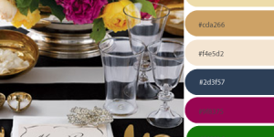 JEWEL & GOLD Inspired Color Palette