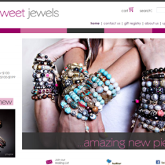 So Sweet Jewels Boutique Website Design