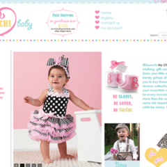 My ChiChi Baby 3dCart Boutique Web Design
