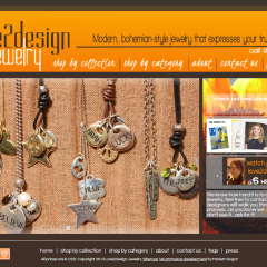 love2design jewelry Boutique Web Design