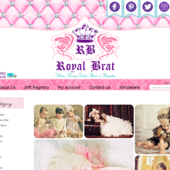 Royal Brat Boutique Website REDesign
