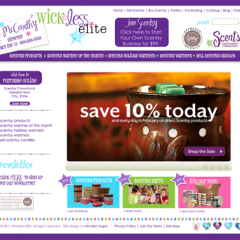 Wickless Elite Boutique Web Design