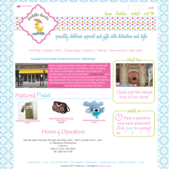 Puddleducks Boutique Web Design