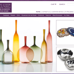 Treluxe Boutique Web Design